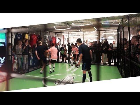 Unisport Store Opening Event in Copenhagen - 2v2 Match & Soccer Freestyle | KimFootball