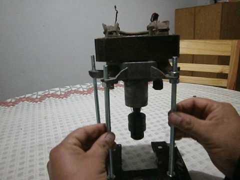 Como hacer una fresadora casera con motor de secarropas - Fresadora de madera ...