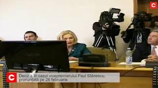 Paul Stănescu,  decizie pe 26 februarie