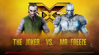 WWE 2K18 Joker vs Mr.Freeze Gameplay!!!