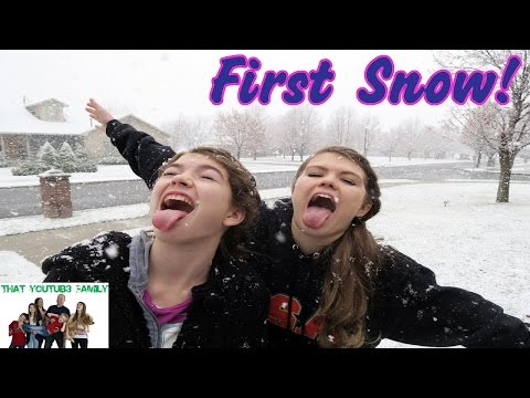 First Snow - Advent Calendar Day 1