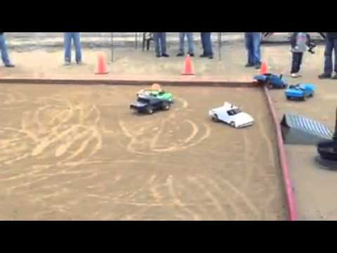 Remote control demolition derby