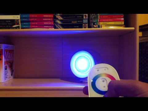utiliser une lampe living colors philips modifier les rglages youtube - Lampe Living Color