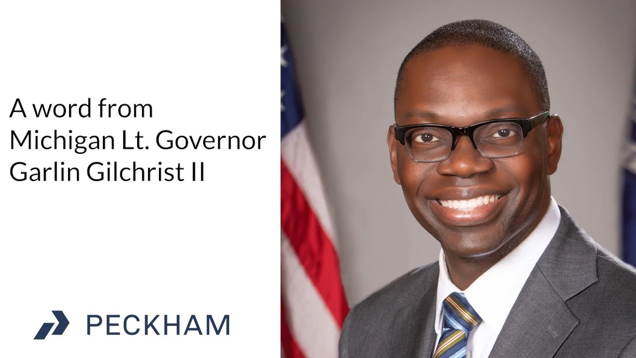 A Word From Michigan Lt Governor Garlin Gilchrist Ii Youtube