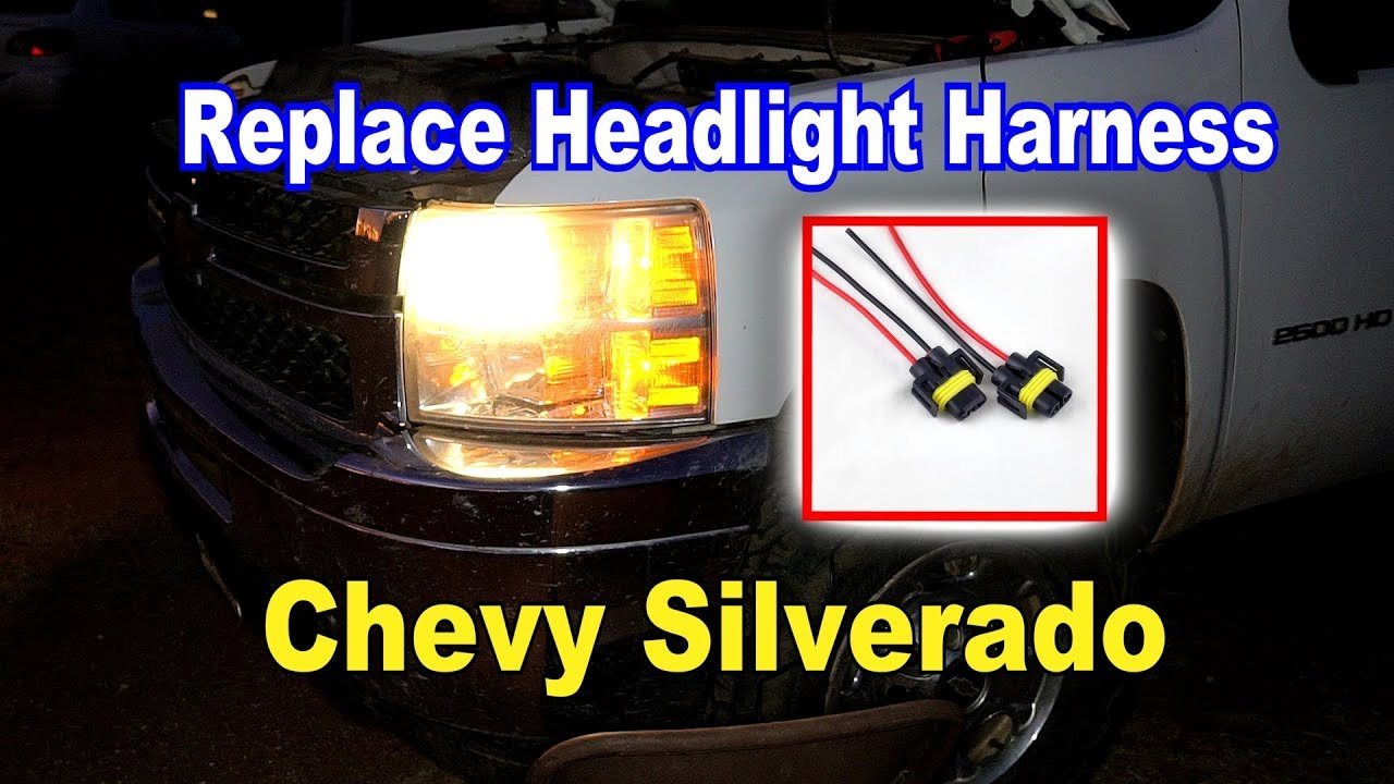 [SCHEMATICS_4FR]  🛠️ How to Replace the Headlight harness plug on Chevy Silverado 💡 -  YouTube | 2007 Impala Headlight Wiring Harness |  | YouTube