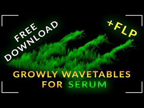 Free DubStep Bass Growl WaveTables & presets for Serum + FLP