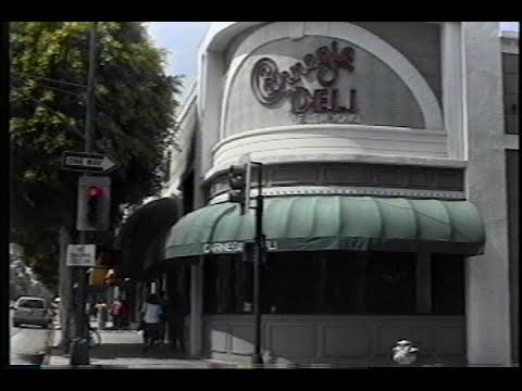 Carnegie Deli in Beverly Hills opens July 19, 1989 Mp3