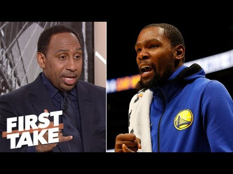Stephen A.: Durant may choose LA Clippers in 2019 NBA offseason | First Take