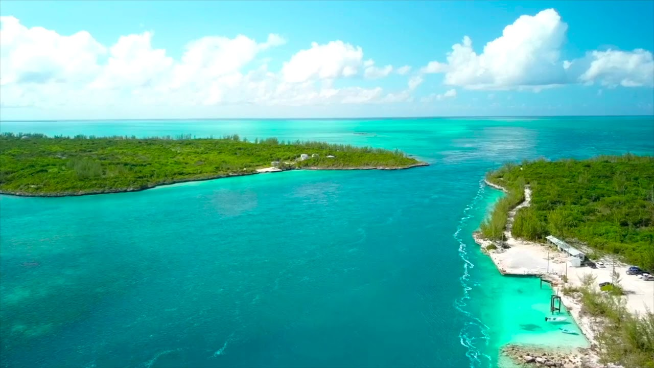 Above Eleuthera, Bahamas. An Aerial View - YouTube