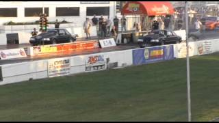 Junior Southwell 7.39 off the trailer in Milan Drag Radial September 2009