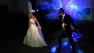 Espectacular y original baile de novios Lidia-Juan 30-06-12