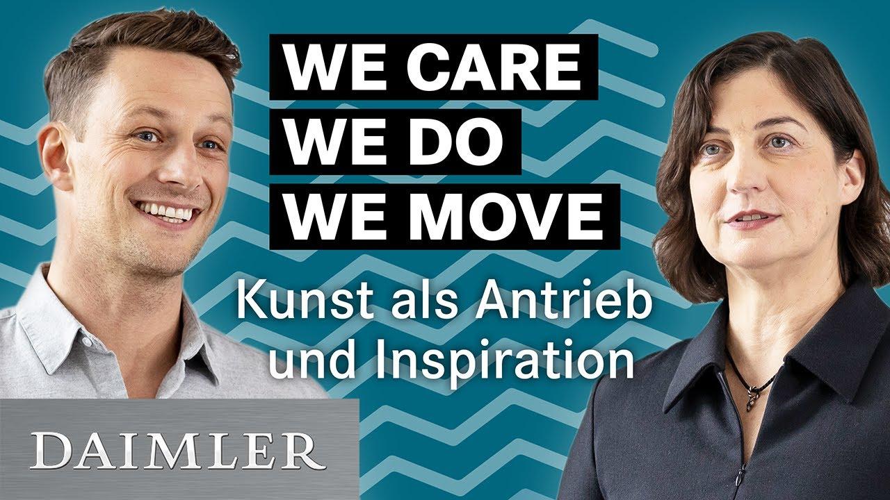 WE CARE WE DO WE MOVE TV Episode 2 mit Leon Löwentraut, Alicja Kwade und Prof. Walter Smerling