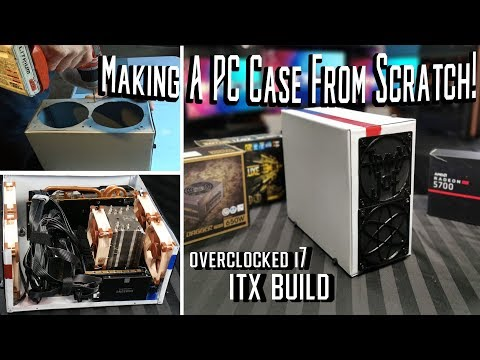 I made my own ITX PC case and it's actually really good?!?