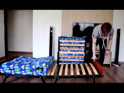 Раскладная кровать «Диана» и раскладная кровать «Дачная». Обзор раскладных кроватей