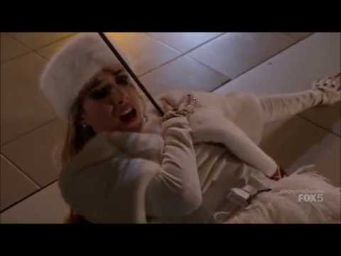 Scream Queens 1x11 - The Chanels are attacked by the Red Devil in the mall