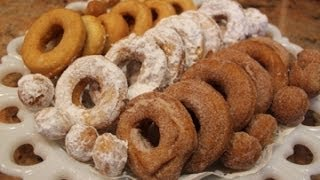 Grandma's Old Fashioned Donuts: Classy Cookin' With Chef Stef