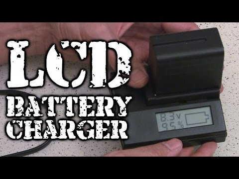 Review: LCD Battery Charger For Sony F970, F550