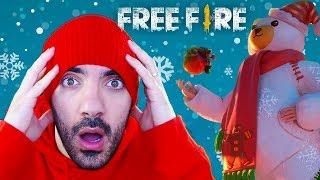 DISFRAZ DE OSO POLAR ÉPICO EN FREE FIRE (Nuevo Miembro = ¡Cofre gratis!) ⭐️ iTownGamePlay