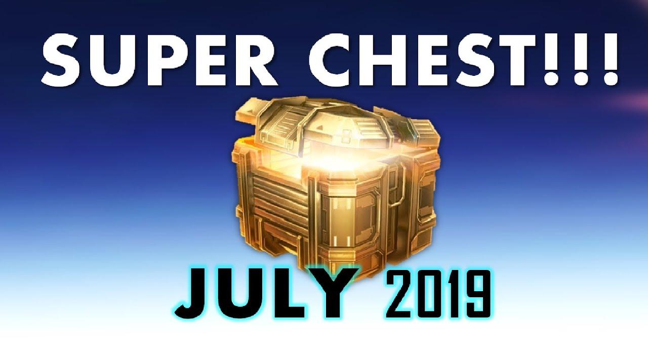 Super Chest - July + Intense Beacon Rush Gameplay - War Robots
