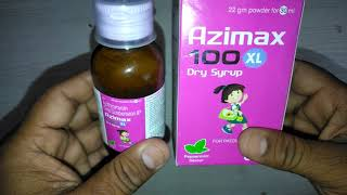 Azimax 100 XL Dry Syrup review in Hindi