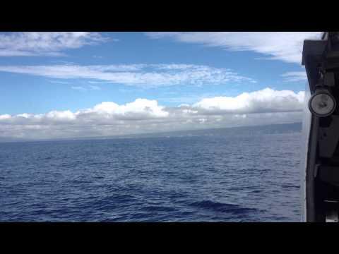 Offshore Cruising Near Oahu