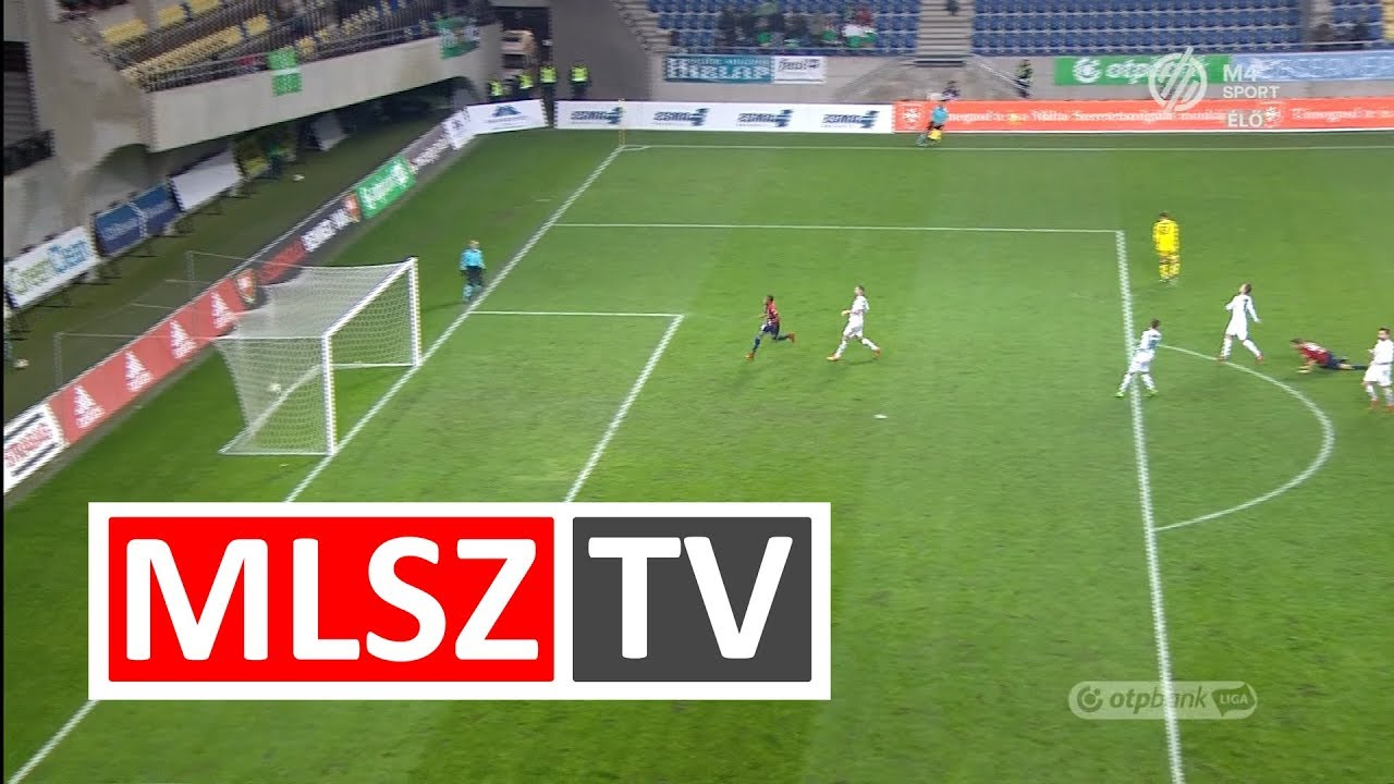 Nego Loic gólja a Videoton FC - Paksi FC mérkőzésen
