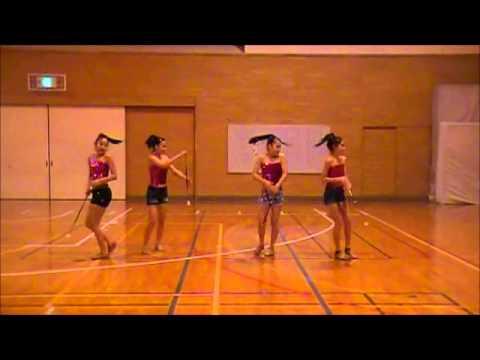 I Wanna Go - Baton Twirling Performance