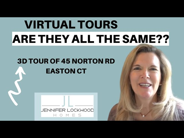 What is a Virtual Tour? They are not all the same! Easton CT Home for Sale | 45 Norton Rd