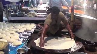 never before seen  amazing indian cooking  skill || Halwa Paratha || Mumbai Street Food