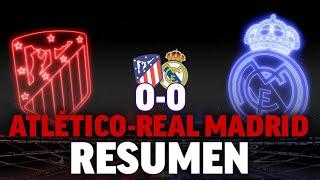 Atlético 0 - Real Madrid 0, en DIRECTO el derbi madrileño de LaLiga 2019 - 20 I MARCA