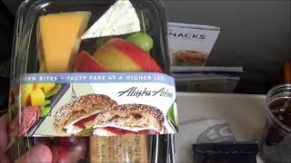 Alaska Airlines Fruit and Cheese Platter