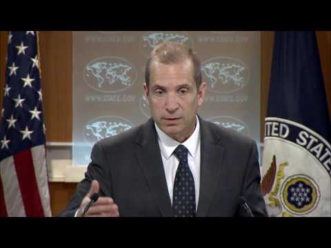 Department Press Briefing  - March 13, 2017