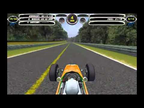F1 Challenge VB || 1968 Season - Round 6 || France - Rouen || McLaren Ford || Race - 16 Laps