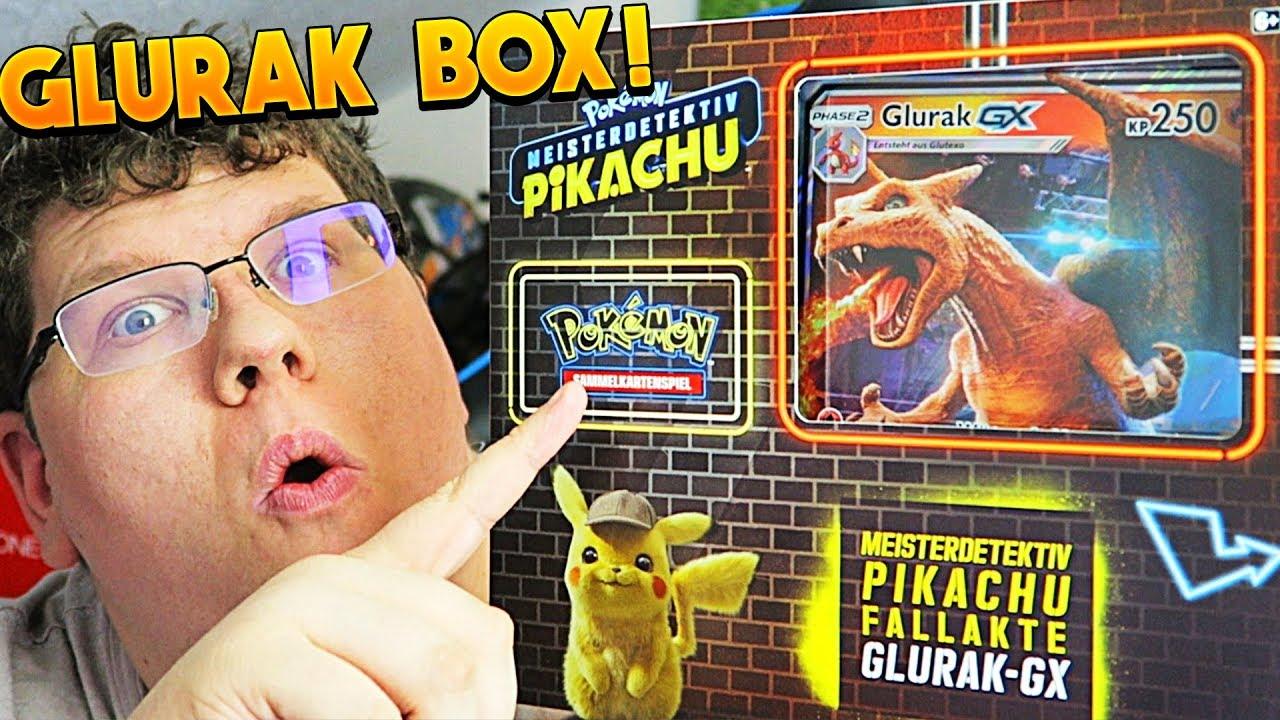 Glurak Pokemon Karte.Die Neue Glurak Gx Box Pokémon Detektiv Pikachu Glurak Gx Opening