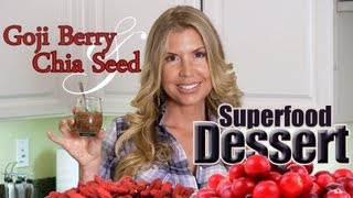 Goji Berries and Soaked Chia Seed- Superfood Dessert- You are going to love Goji Berries this Way!(Good morning You tube, Facebook and twitter family! I'm out here in the desert running my amazing juice fast retreat but I could not leave all of you hanging ..., 2013-01-29T16:09:03.000Z)