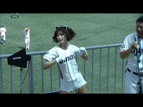 Korea Tour. GoYang Dinos Futures League Baseball (English Day). 한화 Eagles VS 고양 다이노스 이벤트 ★J at Seoul
