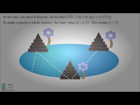 Can You Solve The Magical Pond Riddle  music   The Magic of Mathematics