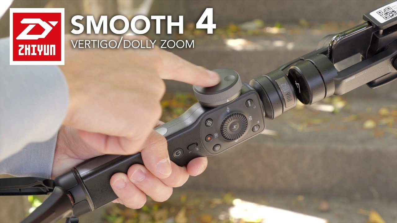 Zhiyun Smooth 4 - How To (Manually) Do the Dolly Zoom ...