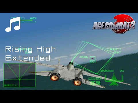 """""""Rising High"""" - Ace Combat 2 OST (Extended)"""