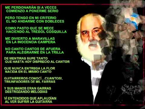 Décimas Del Fogón José Larralde Letrascom