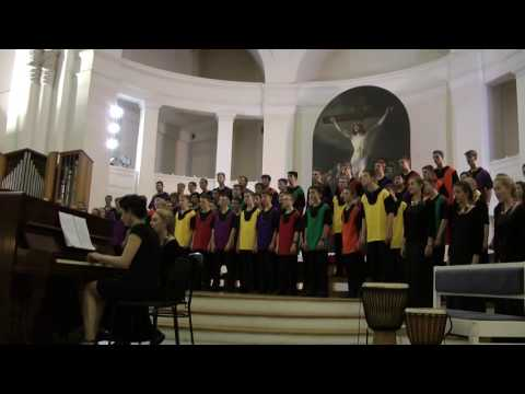 Menlo Park High School Choir. St Petersburg.