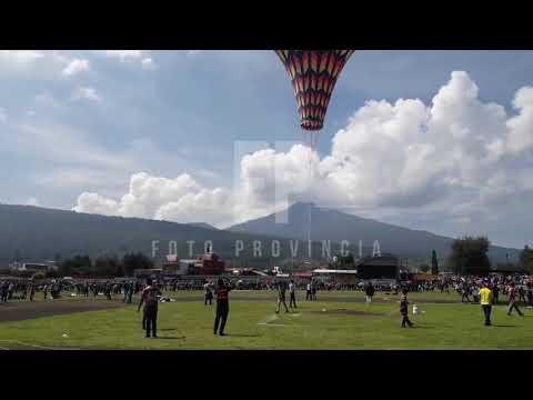 Surca el cielo, el globo de cantoya más grande de México