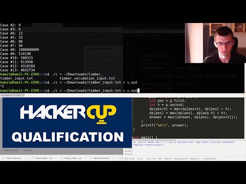 Facebook Hacker Cup 2020 Qual' (2nd place)