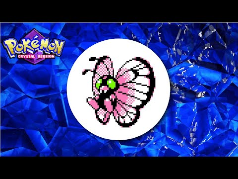(SBQ#3) Live 5% Shiny Butterfree After 1,161 REs In Bug Catching Contest - Pokemon Crystal