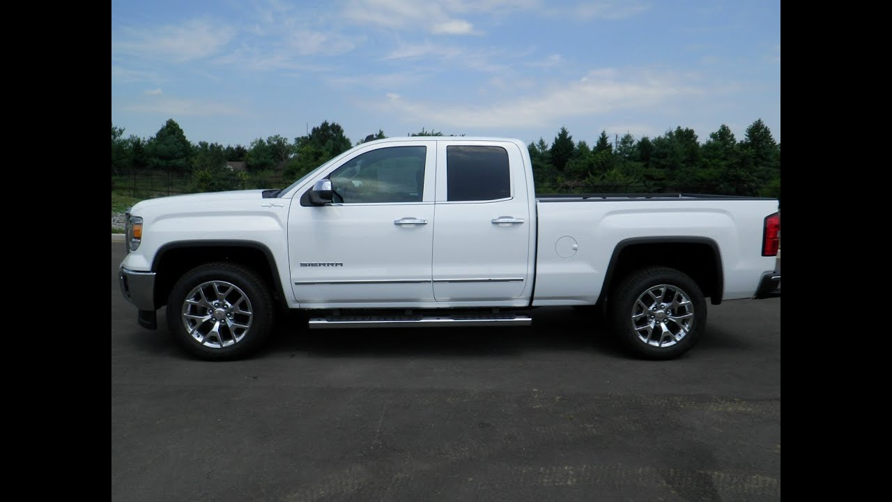ALL NEW 2014 GMC SIERRA 1500 SLT DOUBLE CAB 4X4 5.3 ...