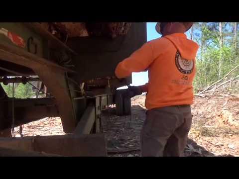 Driving a log truck