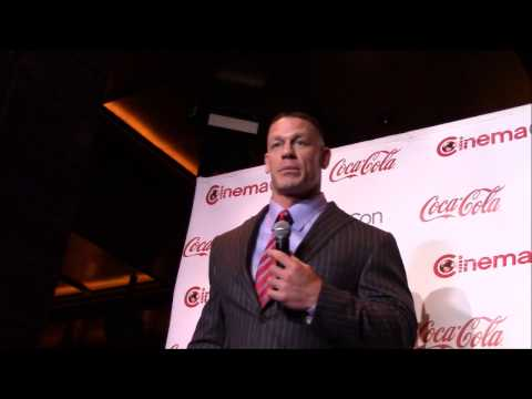 John Cena interview - The Wall, Ferdinand, and Acting (CinemaCon)