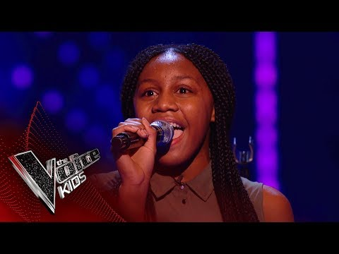 Sienna-Leigh Performs 'I Know Where I've Been': Blinds 1 | The Voice Kids UK 2018