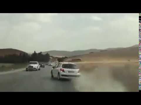 Accident de voiture en Algérie en direct