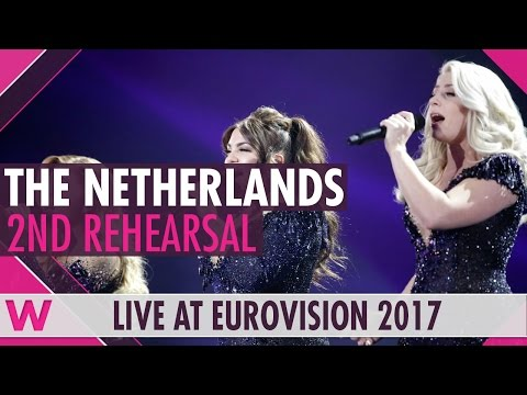"""Second rehearsal: OG3NE """"Lights And Shadows"""" (Netherlands) Eurovision 2017 